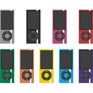 フリーイラスト, ベクター画像, AI, 音楽, 家電機器, オーディオ機器, 携帯音楽プレーヤー, アップル(Apple), iPod