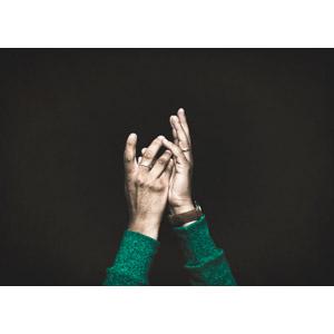 フリー写真, 人体, 手, 黒背景, 求める