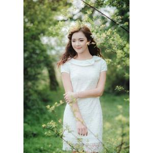 フリー写真, 人物, 女性, アジア人女性, 女性(00132), ベトナム人, ワンピース