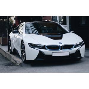 フリー写真, 乗り物, 自動車, スポーツカー, BMW, BMW・i8, ハイブリットカー