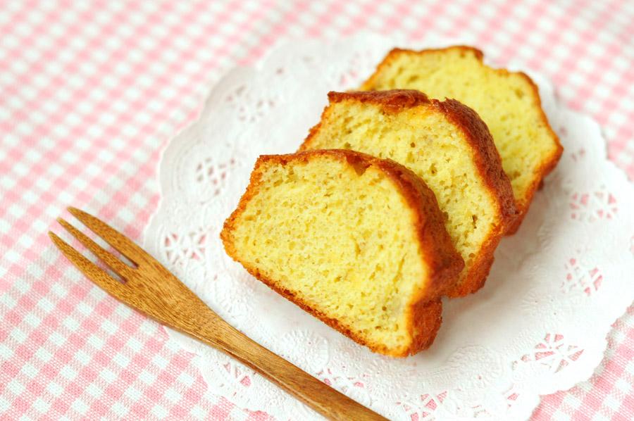 フリー写真 パウンドケーキ