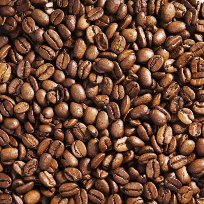 フリー写真 一面のコーヒー豆