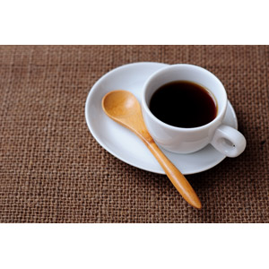 フリー写真, 飲み物(飲料), コーヒー(珈琲), コーヒーカップ, スプーン
