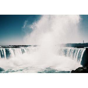 フリー写真, 風景, 自然, 滝, ナイアガラの滝, アメリカの風景, カナダの風景