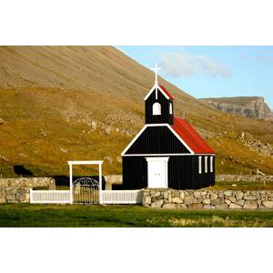 フリー写真, 風景, 建造物, 建築物, 教会(聖堂), アイスランドの風景