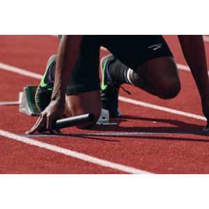 フリー写真, スポーツ, 陸上競技, リレー走, バトン, 位置について、よーいドン, スタート