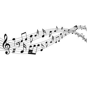 フリーイラスト, ベクター画像, AI, 背景, 音楽, 楽譜, 音符