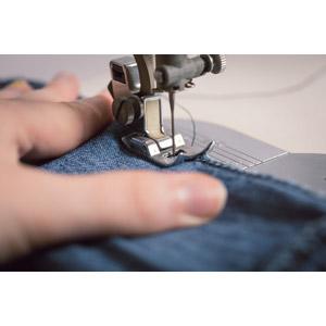 フリー写真, 裁縫道具, ミシン, 裁縫, 手
