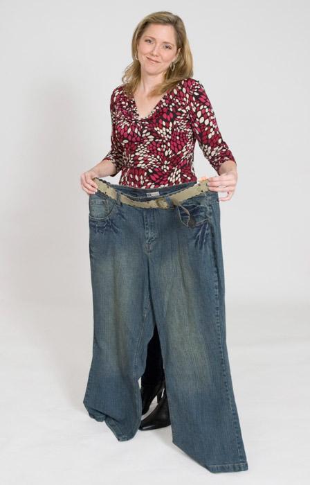 フリー写真 ダイエットに成功した外国人女性