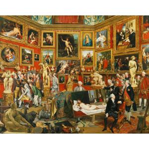 フリー絵画, ヨハン・ゾファニー, 風景画, 博物館(美術館), ウフィツィ美術館, 絵画, 彫像, 額縁, イタリアの風景