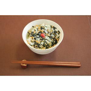 フリー写真, 食べ物(食料), 料理, 日本料理, 和食, 米料理, お茶漬け, 梅干し(うめぼし), 箸