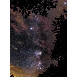 フリー写真, 風景, 自然, 夜, 夜空, 天の川, 星(スター)