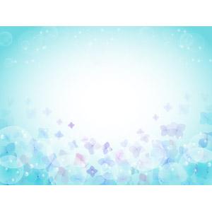 フリーイラスト, ベクター画像, AI, 背景, 梅雨, 6月, 紫陽花(アジサイ)