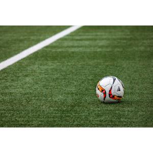 フリー写真, スポーツ, 球技, サッカー, サッカーフィールド, 芝生, サッカーボール