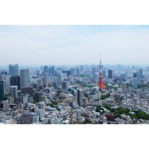 東京の高層ビルの街並み