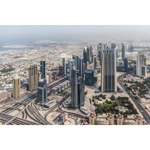 フリー写真, 風景, 建造物, 建築物, 高層ビル, 都市, 街並み(町並み), ドバイ, アラブ首長国連邦の風景