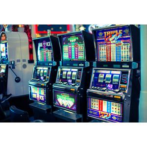 フリー写真, カジノ, 賭博(ギャンブル), スロットマシン