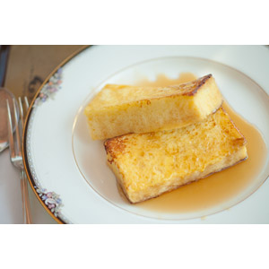 フリー写真, 食べ物(食料), パン, フレンチトースト, 卵料理
