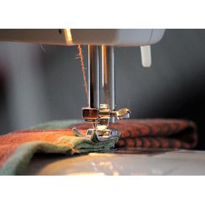 フリー写真, 裁縫道具, ミシン, 裁縫