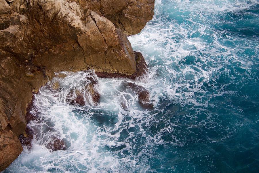 フリー写真 クロアチアの海岸風景