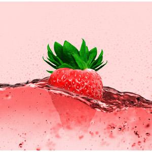 フリー写真, フォトレタッチ, 食べ物(食料), 果物(フルーツ), 苺(イチゴ), 飲み物(飲料), ジュース