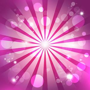 フリーイラスト, ベクター画像, AI, 背景, 放射線状, 抽象イメージ, 玉ボケ, ピンク色