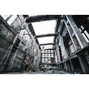フリー写真, 風景, 建造物, 建築物, 廃墟