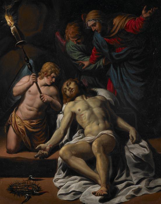 フリー絵画 アレッサンドロ・トゥルキ作「哀悼」
