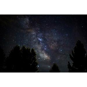 フリー写真, 風景, 自然, 夜, 夜空, 星(スター), 天の川