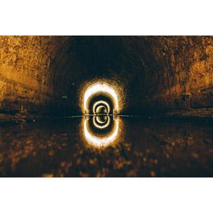 フリー写真, 風景, 建造物, 下水道, トンネル, フランスの風景