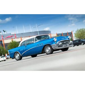 フリー写真, 乗り物, 自動車, クラシックカー, クーペ, ゼネラルモーターズ, ビュイック, ビュイック・センチュリー