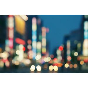フリー写真, 風景, 夜景, 光(ライト), 夜, 都市, 街並み(町並み), 日本の風景, 東京都, 玉ボケ