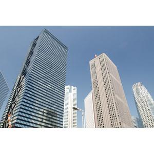 フリー写真, 風景, 建造物, 建築物, 高層ビル, 日本の風景, 東京都
