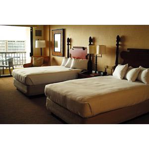 フリー写真, 風景, 建造物, 建築物, 部屋, ホテル, ベッド, 旅行(トラベル), 海外旅行