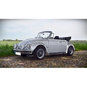 フリー写真, 乗り物, 自動車, フォルクスワーゲン, フォルクスワーゲン・ビートル, オープンカー