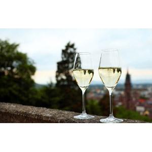 フリー写真, 飲み物(飲料), お酒, シャンパン, シャンパングラス