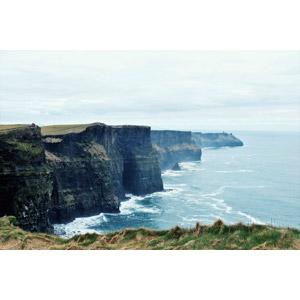 フリー写真, 風景, 自然, 海, 海岸, 崖, アイルランドの風景