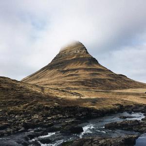 フリー写真, 風景, 自然, 山, 河川, アイスランドの風景