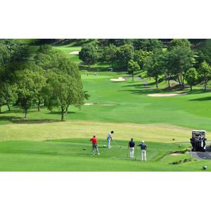 フリー写真, スポーツ, 球技, ゴルフ, ゴルフ場, ゴルファー