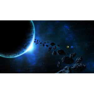 フリーイラスト, 天体, 宇宙, 惑星, 隕石