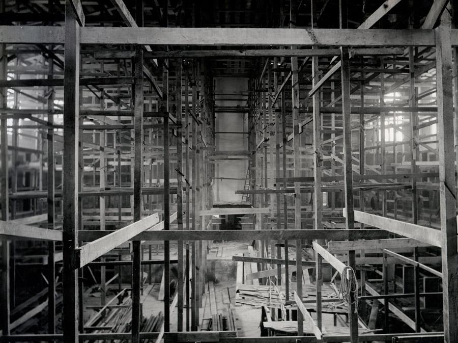 フリー写真 建築中のダニーデン・タウンホールの風景