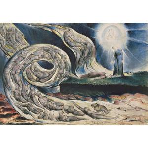 フリー絵画, ウィリアム・ブレイク, 物語画, 神曲, 地獄