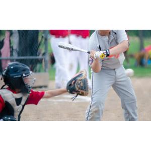 フリー写真, スポーツ, 球技, 野球(ベースボール), 野球選手, キャッチャー(捕手), バッター(打者)