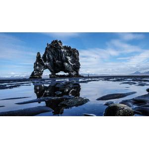 フリー写真, 風景, 自然, 岩, アイスランドの風景