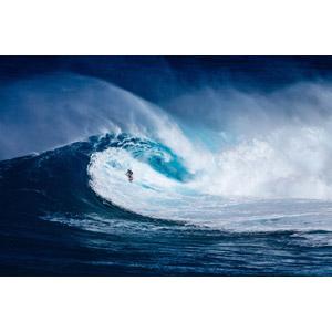 フリー写真, 海, 波, 人と風景, スポーツ, ウォータースポーツ, サーフィン, サーファー, アメリカの風景, ハワイ州