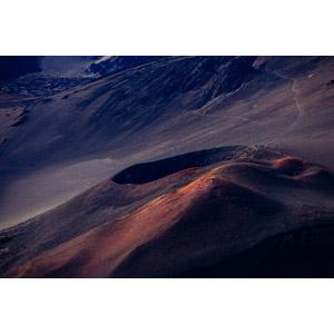 フリー写真, 風景, 自然, 火山, クレーター, ハレアカラ国立公園, アメリカの風景, ハワイ州