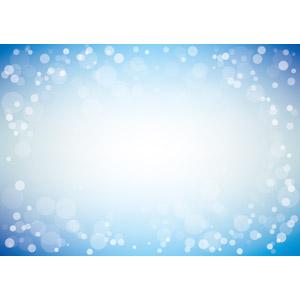 フリーイラスト, ベクター画像, AI, 背景, 玉ボケ, 青色(ブルー)