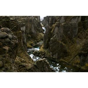 フリー写真, 風景, 自然, 渓谷, 河川, アイスランドの風景
