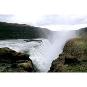 フリー写真, 風景, 自然, 河川, 滝, アイスランドの風景, グトルフォス