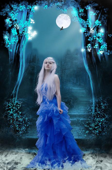 フリー写真 ファンタジーの世界の王女